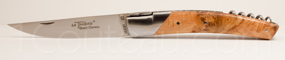Le Thiers knife by Goyon-Chazeau, Le Thiers Pirou JUNIPER knife - juniper handle