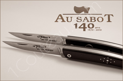 Au Sabot cutlery - 140 th Anniversary, Knives of the friends