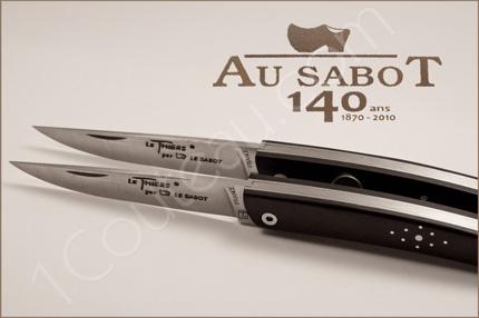 coutellerie au sabot 140 me anniversaire couteaux des amis. Black Bedroom Furniture Sets. Home Design Ideas