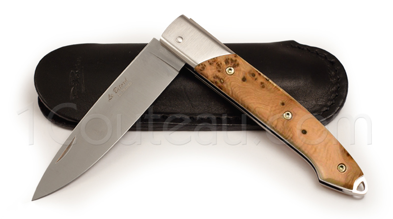 Bitord knife Juniper wood handle