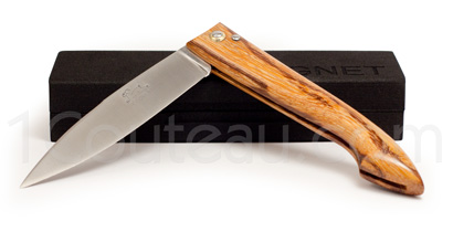 The Capucin pocket knife by Pierre Cognet - Snake wood full handle