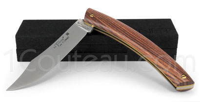 Le Thiers pocket knife by Pierre Cognet - Light Rosewood handle