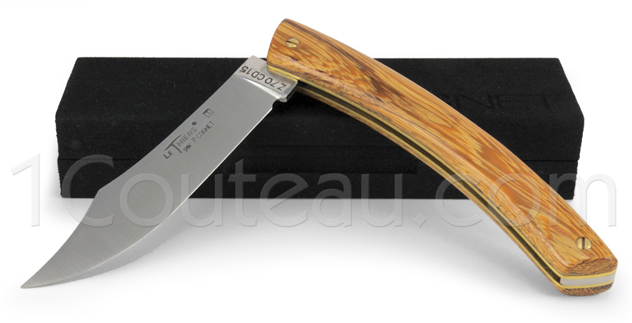 Le Thiers Knife Snake wood handle