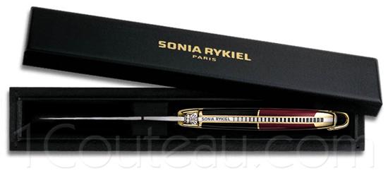 Sonia rykiel knife paris forge de laguiole pocket knife - Couteau de table laguiole ...