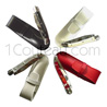 Forge de Laguiole pocket knife for WOMAN handle made with several kind of material and leather case adapted  2 bright stainless steel bolsters