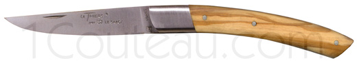 Le Thiers knives, Pocket folding knife - olive wood handle