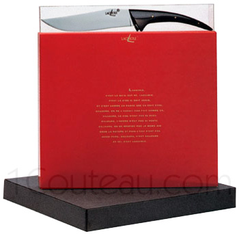 Forge de Laguiole knives, Box cheese knife Philippe STARCK  - JOJO LONG LEGS